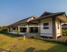 (HS114-03) Well-designed, beautiful detached 3 bedrooms house for sale, Pa Pong, Doi Saket.