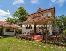 (HS095-04) Beautiful Spacious House for Sale in Luang Nuea, Doi Saket