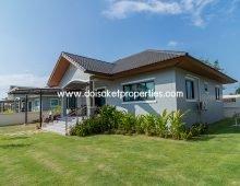 (HS283-04) Quick Sale! Lovely Single Storey Home in a Moo Baan, Doi Saket
