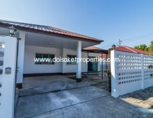 (HS027-02) Cute Single-Storey Home for Sale in Pa Pong, Doi Saket
