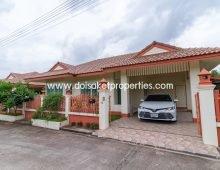 (HR075-02) Great 2 Bedroom Home for Rent in Doi Saket