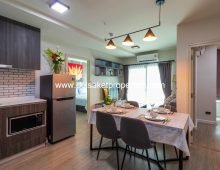 (CDR009-02) Lovely Brand New 2 Bedroom Condo for Rent Close to Central Festival Chiang Mai.