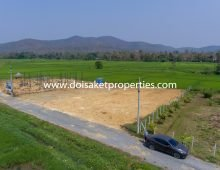 (LS334-00) Nice Plot of Land with Beautiful Views for Sale in Doi Saket