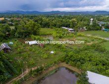 (LS338-04) Nice 4+ Rai Plot of Land for Sale in Doi Saket