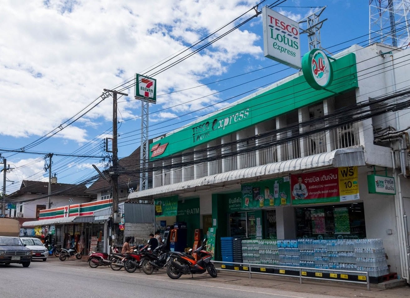 7-Eleven and Tesco Lotus Express - Choeng Doi, Doi Saket