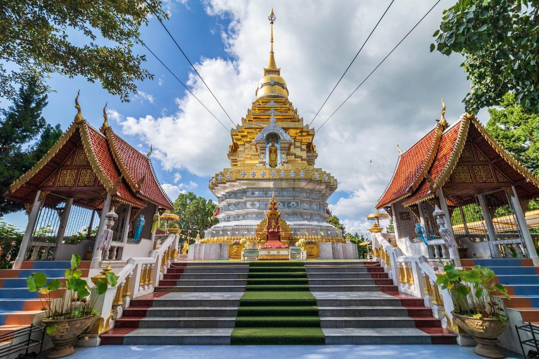 Wat Phra That Doi Saket - Choeng Doi, Doi Saket