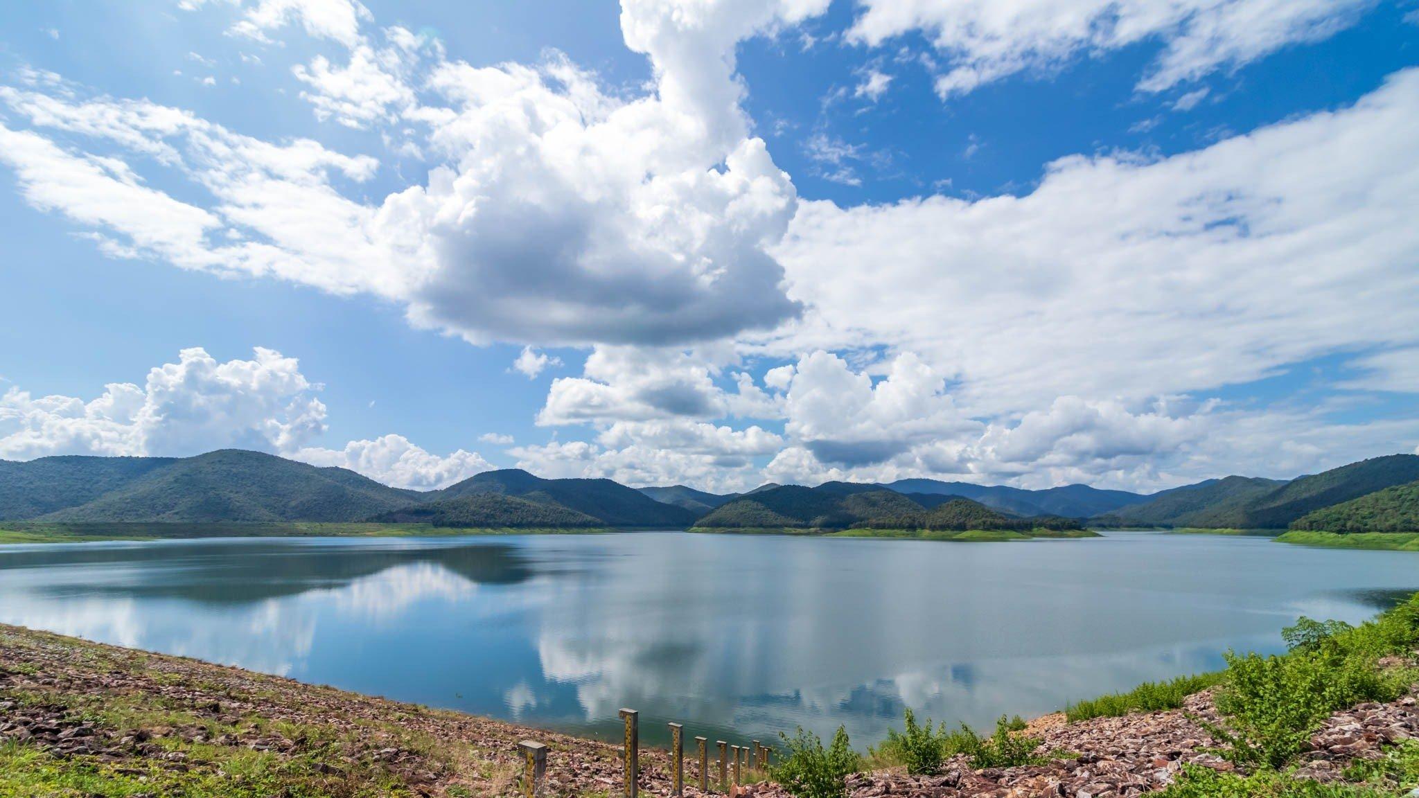 Mae Kuang Dam and Lookout Point - Luang Nuea, Doi Saket