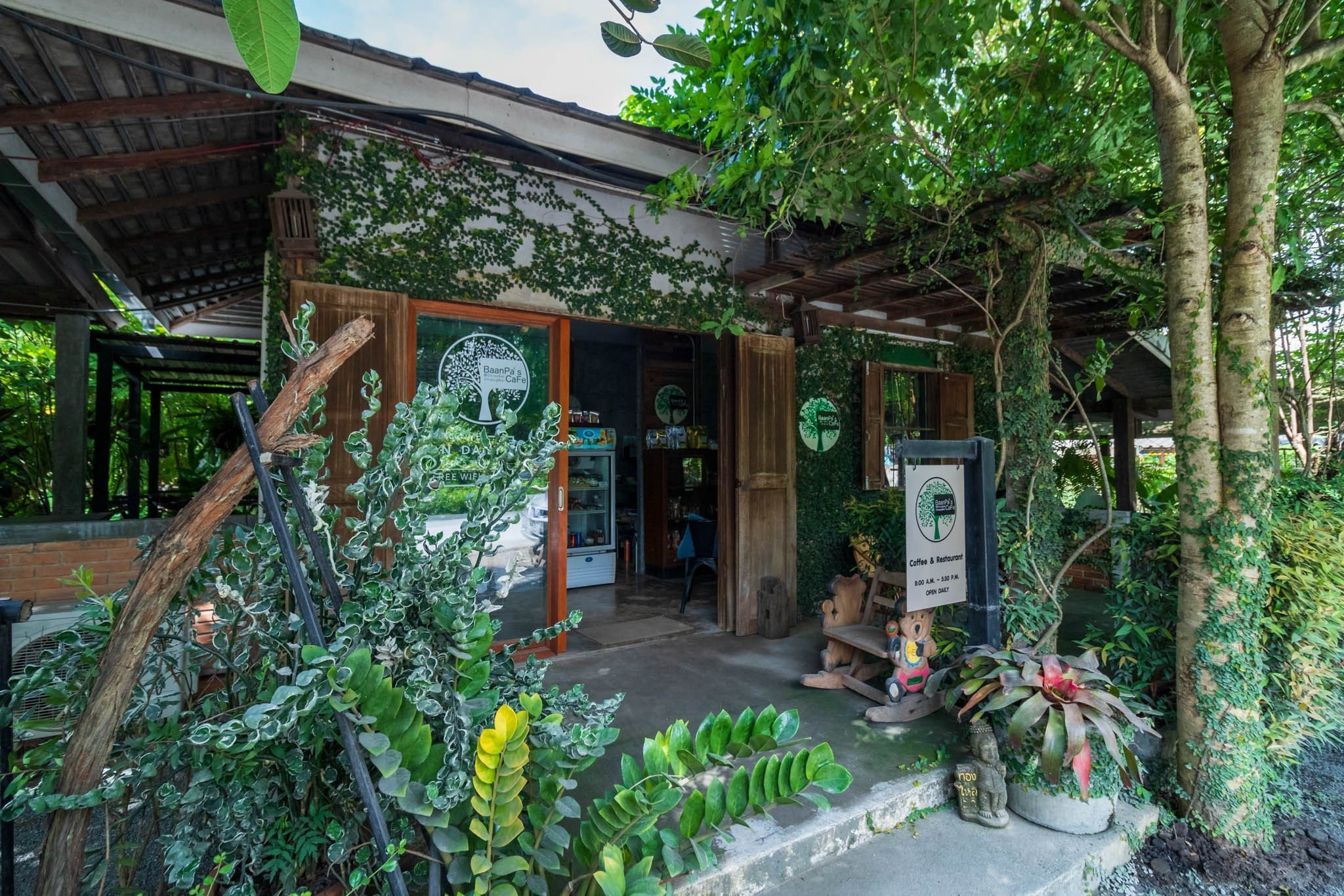 Baan Pa's Cafe - Choeng Doi, Doi Saket