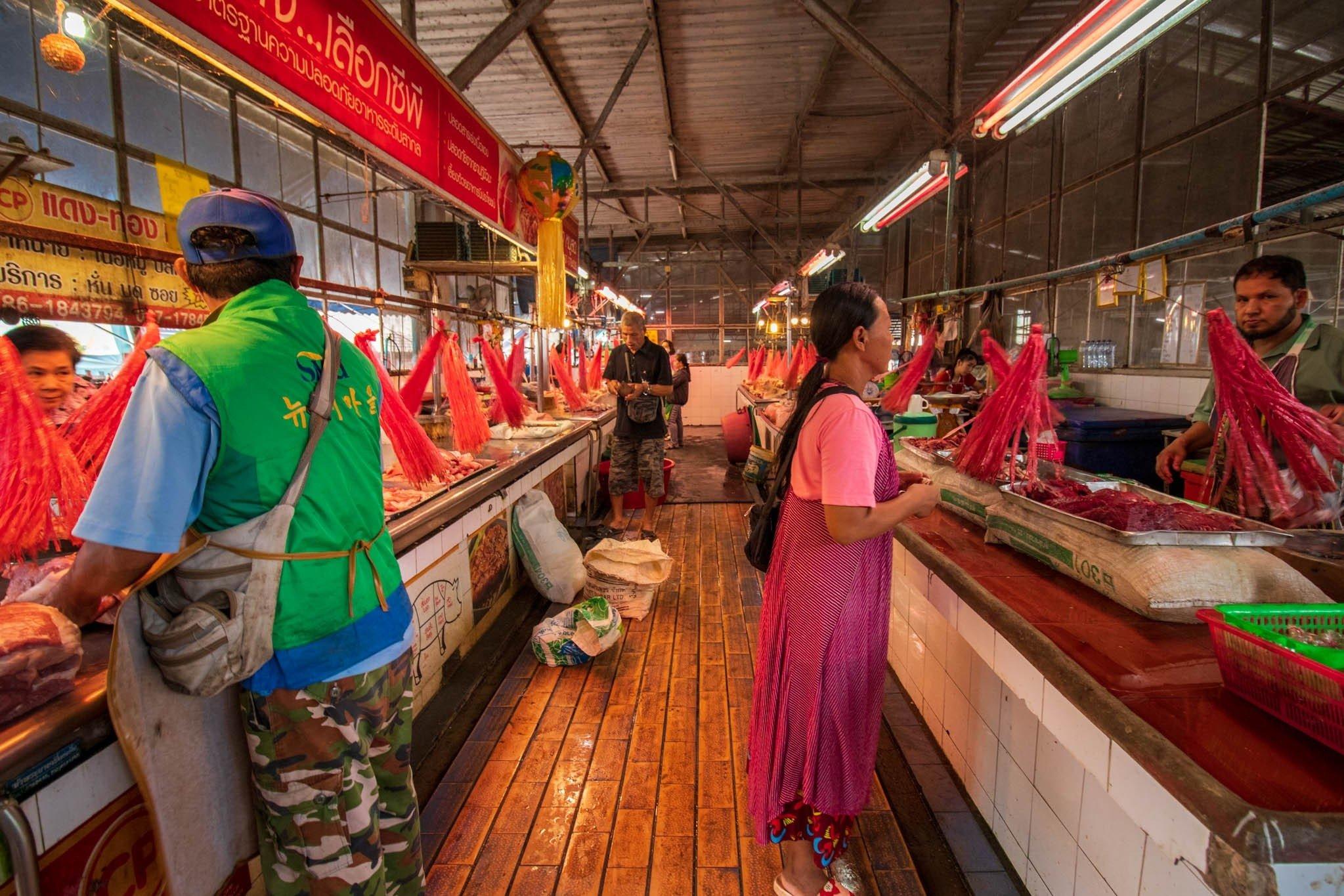 Doi Saket Fresh Market (Open Daily) - Choeng Doi, Doi Saket