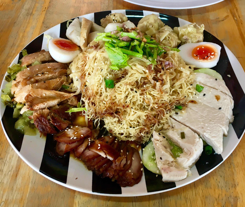 Mixed Platter Food at Tee Noy Thai-Chinese Restaurant - Choeng Doi, Doi Saket