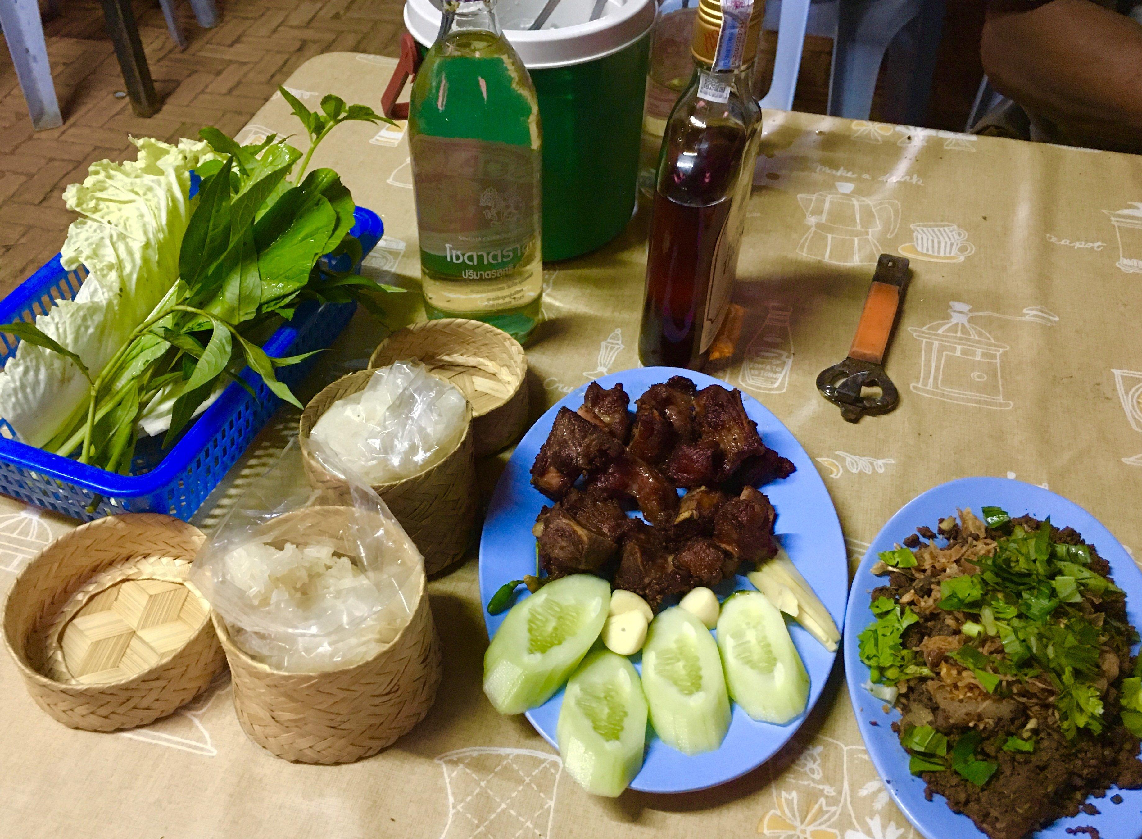 Nothern Thai and Isaan Food at Laab Duangdee Restaurant - Choeng Doi, Doi Saket