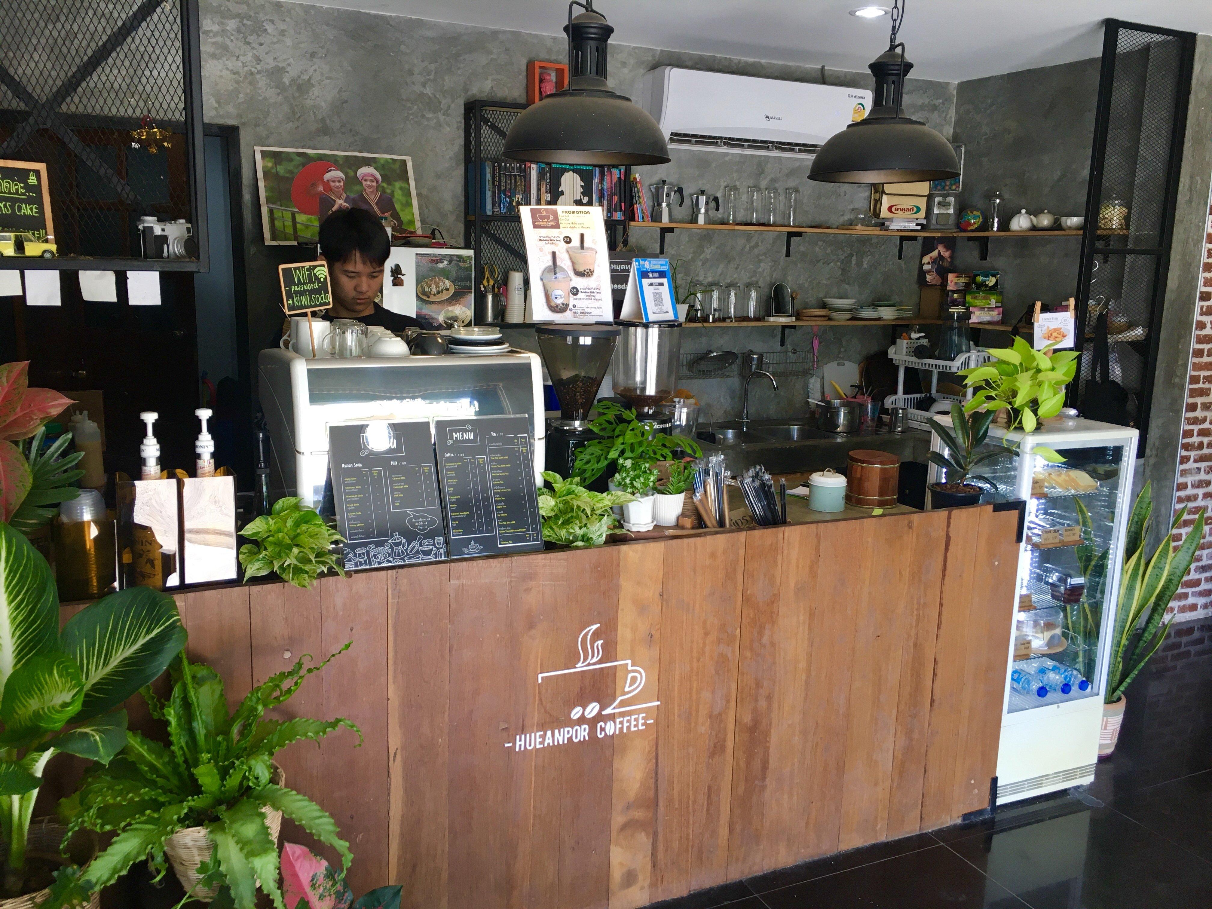 Hueanpor Coffee - Choeng Doi, Doi Saket