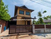 (HR176-02) Nice Fully-Furnished 2-Bedroom Home for Rent in Doi Saket