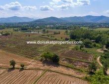 (LS350-12) Large 12+ Rai Plot of Land with Beautiful View for Sale in Huay Sai, San Kamphaeng