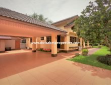 (HS323-03) Lovely 3-Bedroom Home with Beautiful Gardens for Sale in Mueang Kaeo, Mae Rim, Chiang Mai
