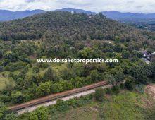 (LS353-01) 1+ Rai of Developable Land for Sale in Nong Yaeng, San Sai, Chiang Mai